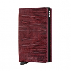 SLIMWALLET SECRID CUIR dutch bordeaux
