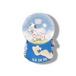 Boule à neige île de Ré - Petit modèle