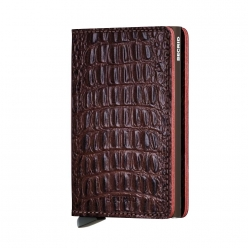 SLIMWALLET SECRID CUIR Nile Brown