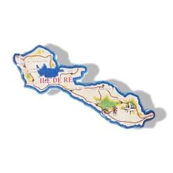 Magnet Carte de l'Île de Ré