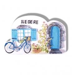 Magnet Île de Ré - Façade de maison de l'île de Ré