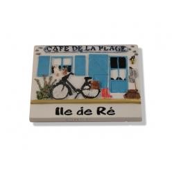 Magnet Île de Ré - Café de la Plage