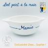 """Bol prénom """"Mamie"""" âne bleu Île de Ré"""