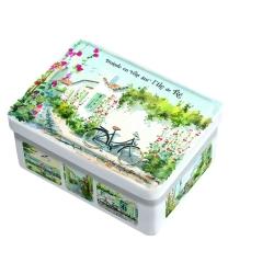 boîte sucrette caramel beurre salé et fleur de sel île de ré balade à vélo sur l'île de ré