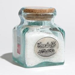 fleur de sel île de ré bocal verre 180 g bouchon liège