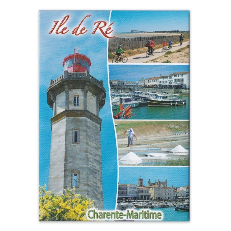 Magnet collection Phare des Baleines charente maritime