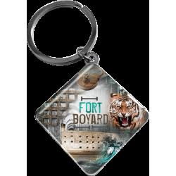 Porte Clés trésors Fort Boyard forme losange