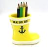 bottes porte crayon jaune île de ré