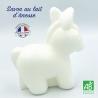 Savon au lait d'ânesse bio parfum naturel souvenirs de l'île de Ré fabriqué en France