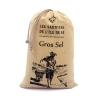 Gros sel de l'Île de Ré sachet toile 750 g fabrication française